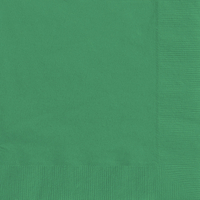 20 Green Paper Party Luncheon Napkins