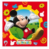 20 Mickey Mouse Clubhouse Paper Party Napkins
