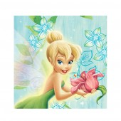 20 Tinkerbell Flowers Theme Paper Party Napkins