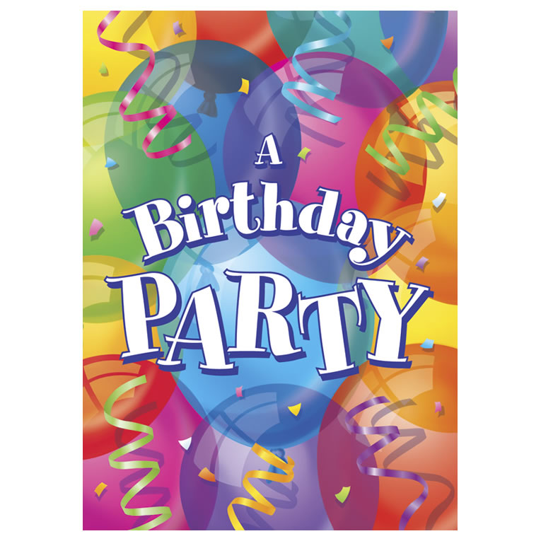 Kids Party Invites, General Party Invitations, Birthday Party ...