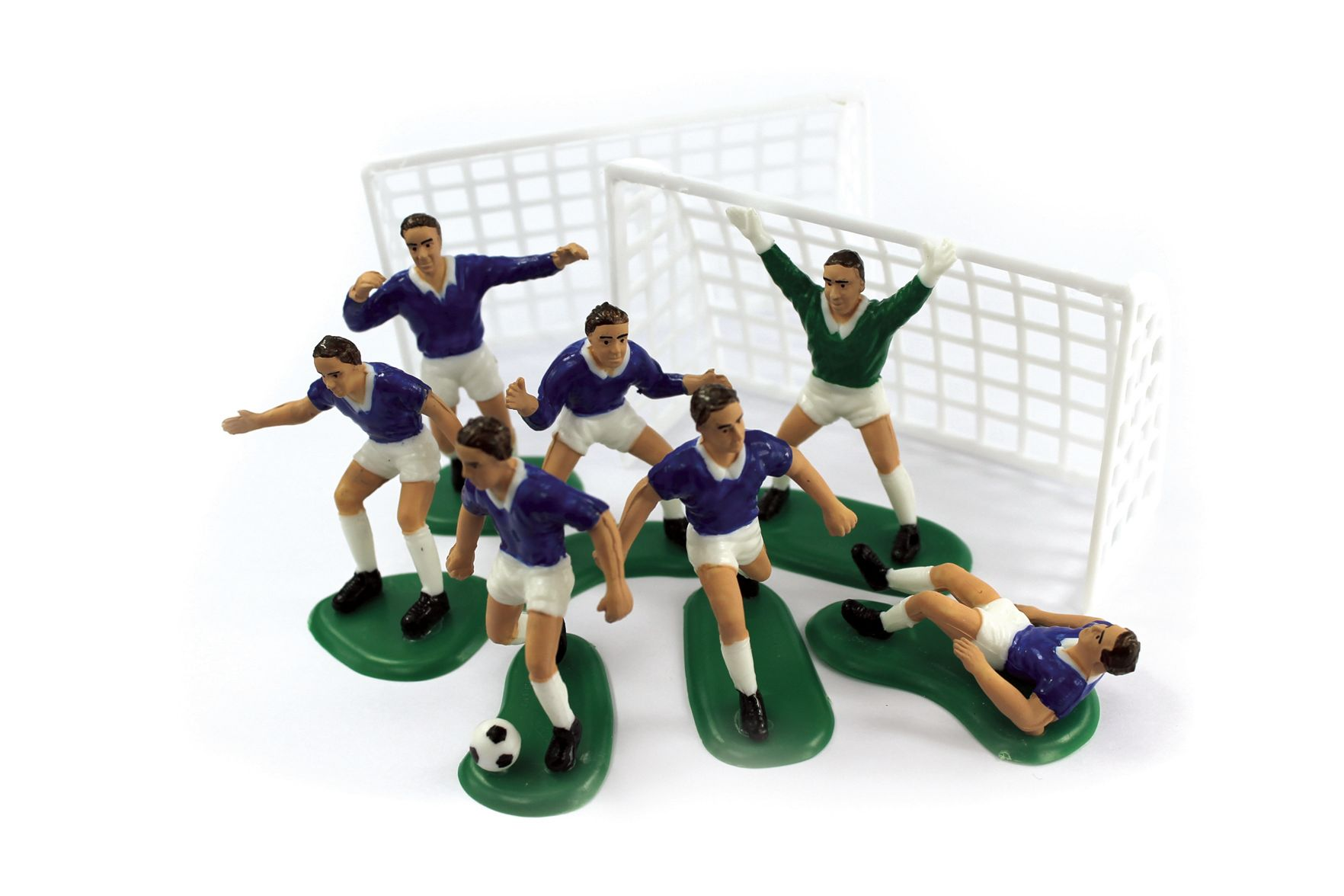 Cake Decorations Football Team : Football Cake Decoration Set in Blue