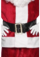 Santa Belt With Large Gold Buckle