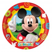 10 Mickey Mouse Clubhouse Paper Party Plates