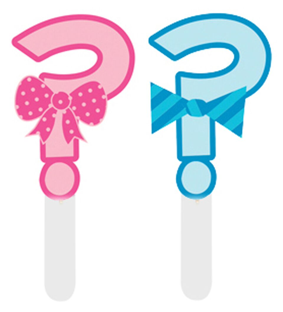 12 Question Mark Cake Toppers