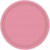 "16 Pink Paper Party Plates 9""/23cm"