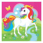 20 Unicorn Paper Napkins