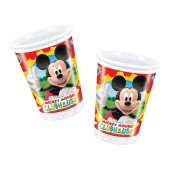 8 Mickey Mouse Clubhouse Plastic Party Cups