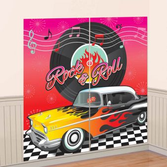Classic 50's Wall Decoration