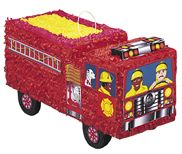 Fire Engine Bash Pinata