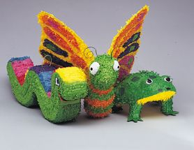 Inchworm Bash Pinata