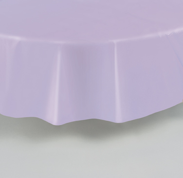 "Lavender Round Tablecover 84""/ 213cm Diameter"