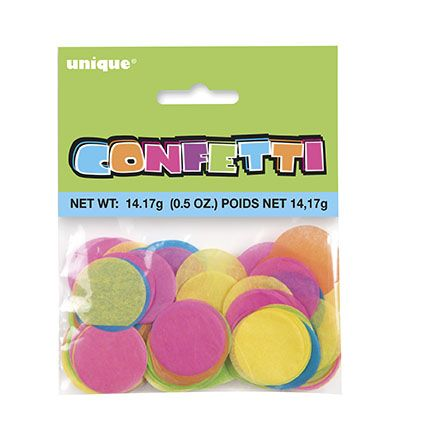 Multi Colour Tissue Confetti 14g