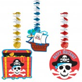 Pirate Cutout Hanging Decoration