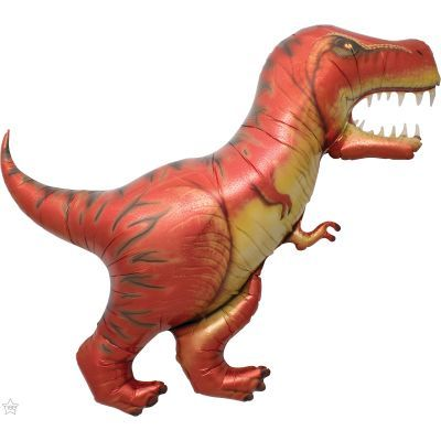 T-Rex Dinosaur Super Shape Foil Balloon