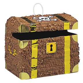 Treasure Chest Bash Pinata